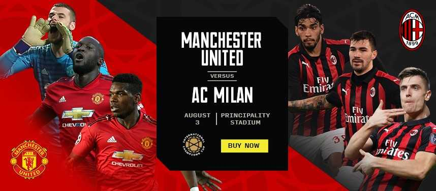 International Champions Cup: Manchester United v AC Milan