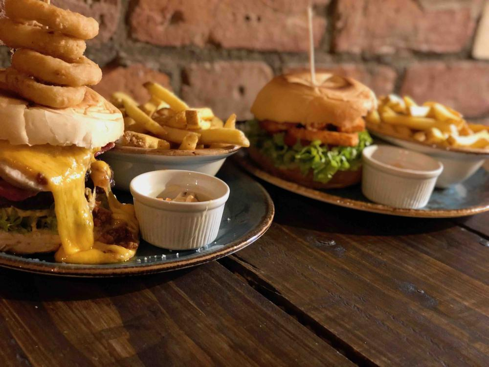Burger & Beer for £10 Seven Bro7hers Beerhouse Ancoats
