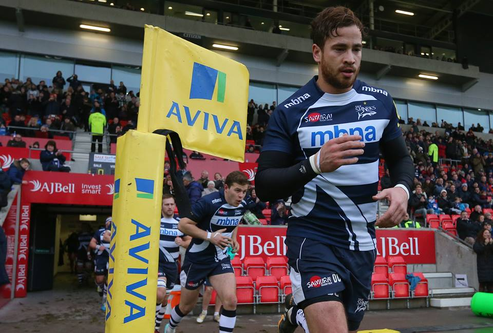 Danny Cipriani Signs A New Two Year Deal with Sale Sharks