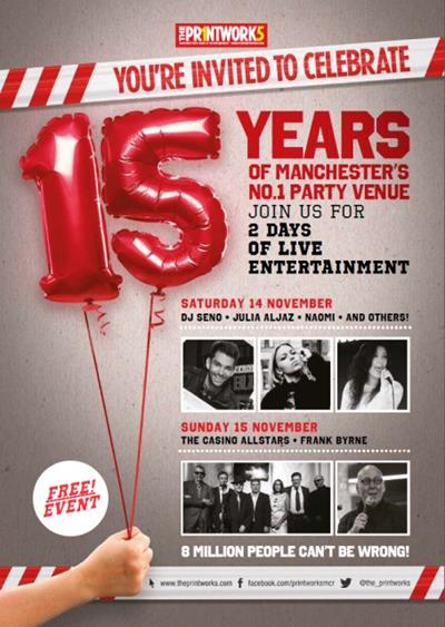 The Printworks Turns 15