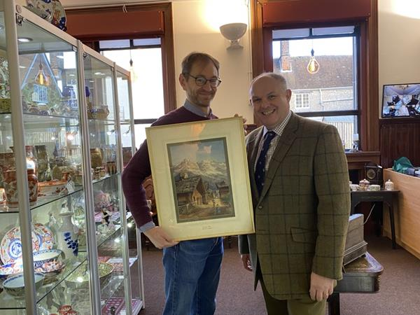 ANTIQUE DEALERS ANXIOUS TO KNOW FIND OUT MORE ABOUT MYSTERY PAINTER