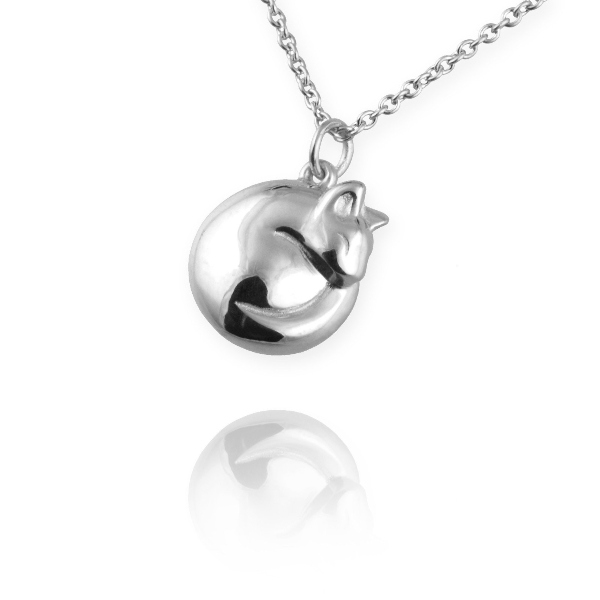 Win a Sterling silver Cat Necklace by Jana Reinhardt Worth £95