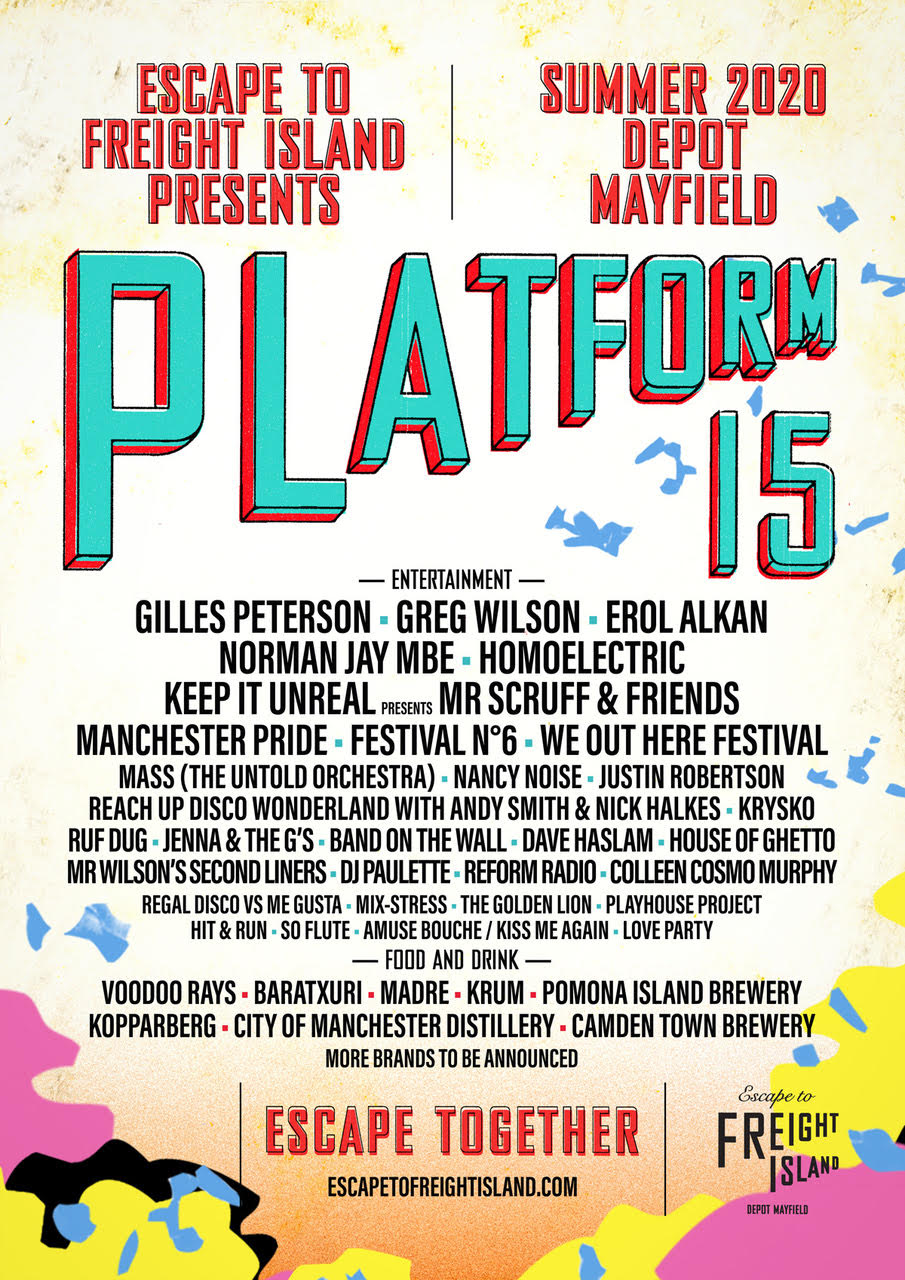 ESCAPE TO FREIGHT ISLAND ANNOUNCES SUMMER LINE-UP AT PLATFORM 15