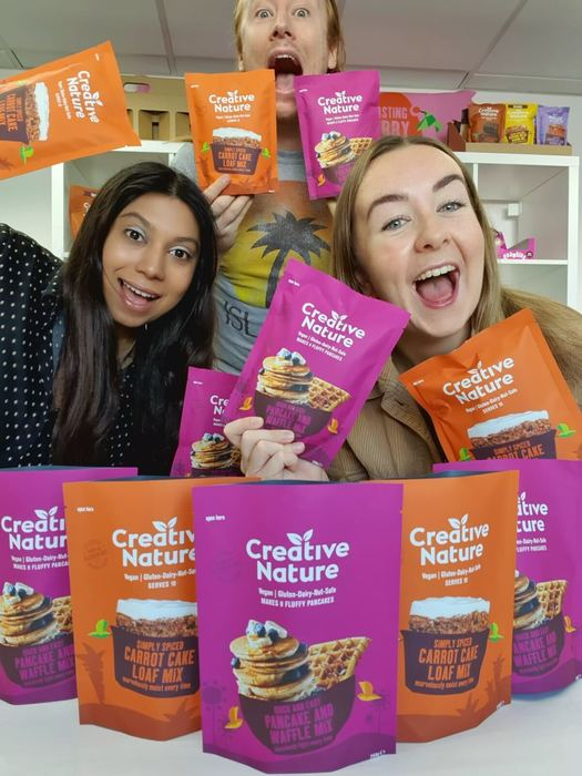 Award-winning super food brand Creative Nature launches their latest allergen free baking mixes
